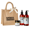 This set makes the perfect equine gift. It includes:  300ml WildWash Gentle Shampoo for Sensitive Coats and Foals with Aloe Vera, Marshmallow Root and Evening Primrose Oil 100ml WildWash Wonder Balm for Hooves and Wounds with Organic Shea Butter, Sea Buck
