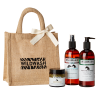 This set makes the perfect equine gift. It includes:  300ml WildWash Medicated Shampoo for Irritated Skin with Juniper, Manuka and Lemongrass 100ml WildWash Wonder Balm for Hooves and Wounds with Organic Shea Butter, Sea Buckthorn and Kanuka 300ml WildWas