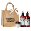 This set makes the perfect equine gift. It includes:  300ml WildWash Ultra Shine Shampoo for Chestnut, Bay and Black Coats with Star Flower, Myrrh and Rosemary 100ml WildWash Wonder Balm for Hooves and Wounds with Organic Shea Butter, Sea Buckthorn and Ka